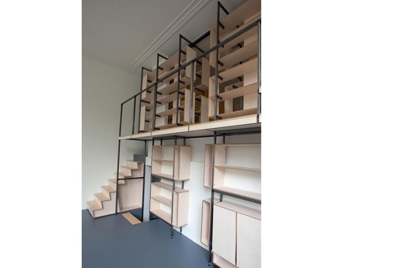 Keuken Met Trap : Atelier klassieke keuken trap interieur architect atelier