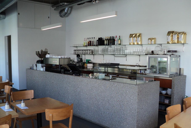 Urban Espresso Bar Rotterdam toonbank